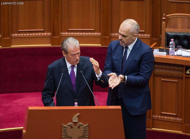 Berisha 'sfidon' hapur kryeministrin Rama