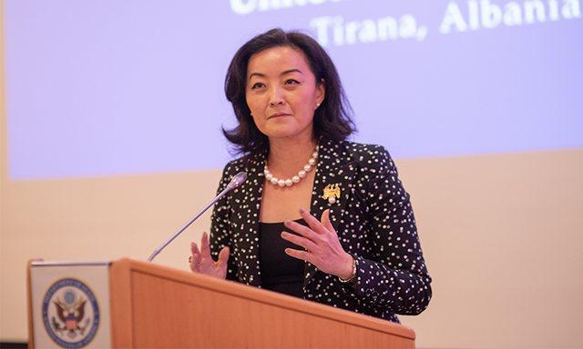 Rjeti 5G, ambasadorja Yuri Kim del me reagimin e papritur: Ky është