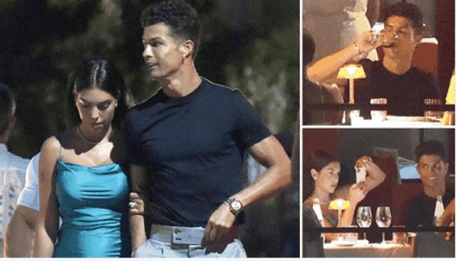 Cristano Ronaldo ndan momentet romantike me partneren e tij nga jahti luksoz