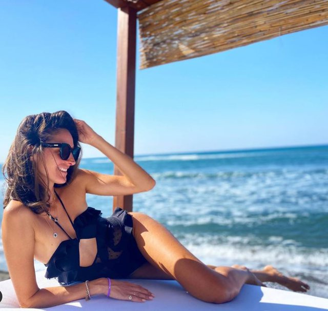 """""""Kjo është toka ime"""", modelja e njohur shqiptare me"""