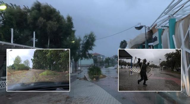 Ndodh e papritura me ciklonin në Athinë, meteorologët