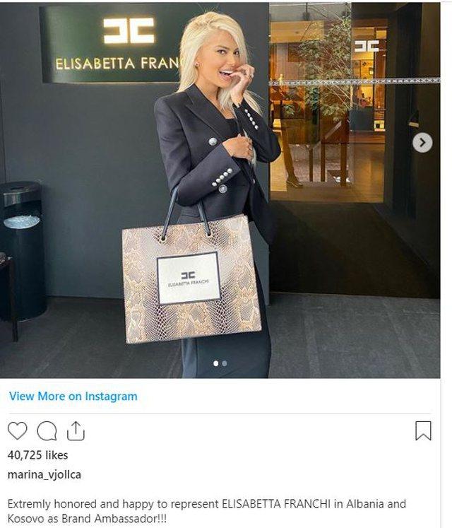Marina Vjollca jep lajmin e madh: Jam jashtëzakonisht e lumtur!