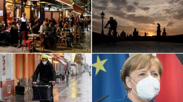 France marks 100,000 infected within 24 hours, Chancellor Merkel gives strong