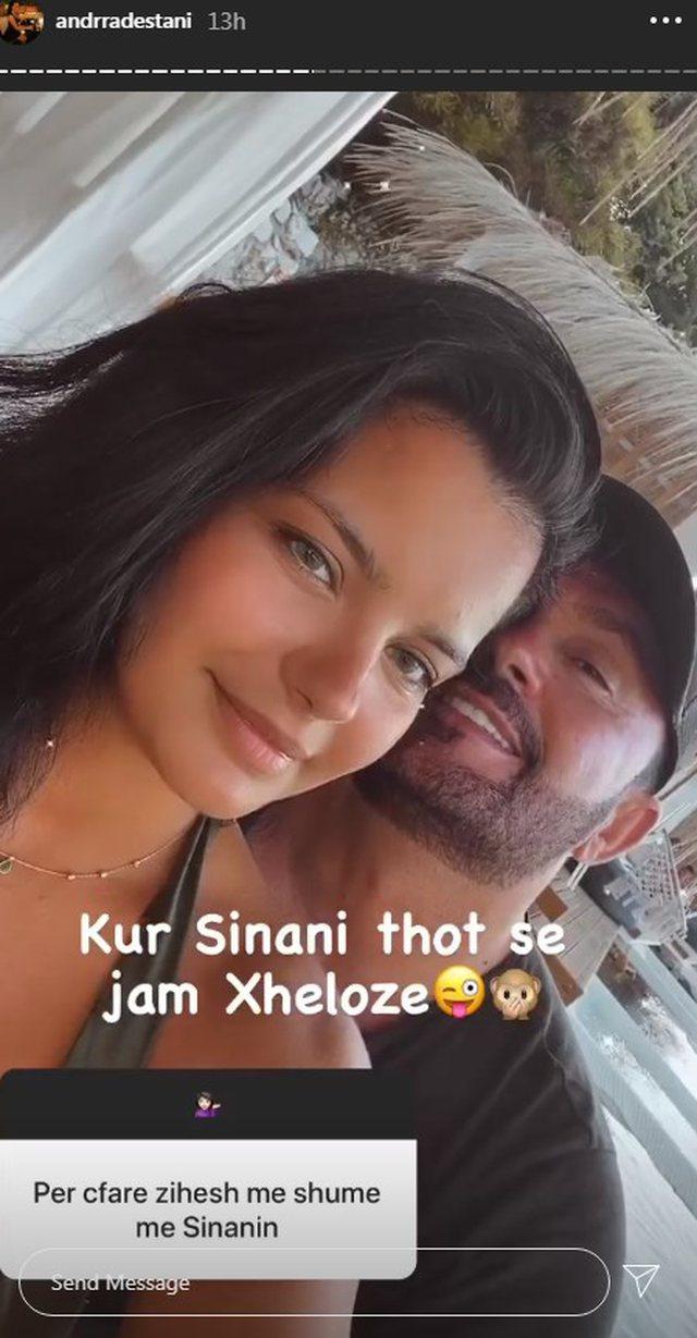 Andrra Destani flet hapur për marrëdhënien me Sinan Hoxhën