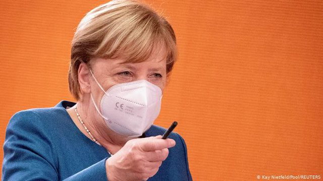 Germany drastic restrictions from COVID-19 / DW reveals Chancellor Merkel's