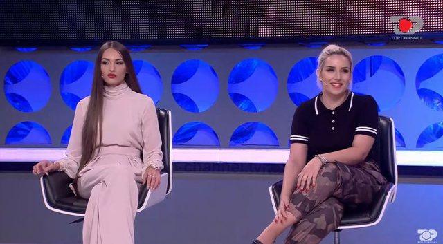 Plas sherri në 'Top Channel'/ Ana dhe Tea zihen për