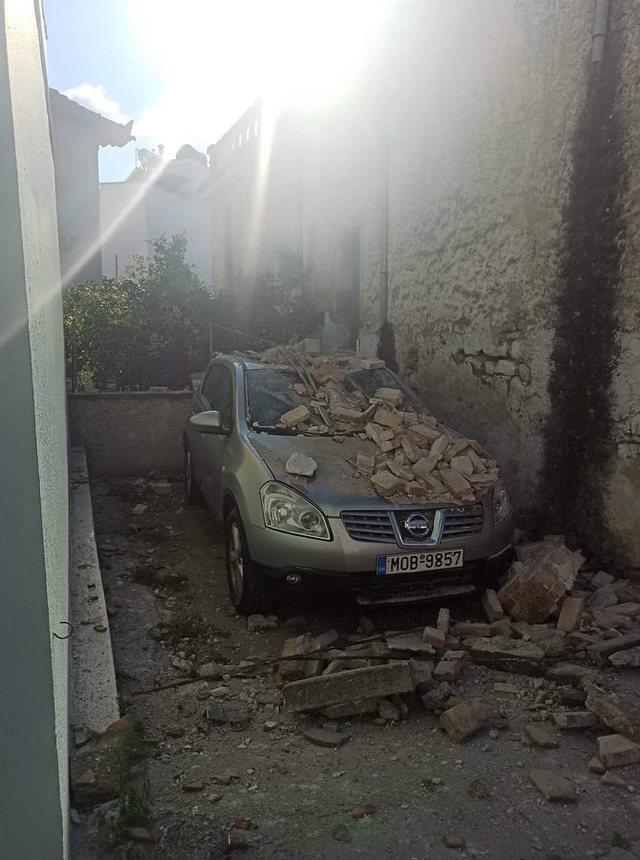 Tërmeti i fuqishëm në brigjet e Egjeut, shikoni si janë