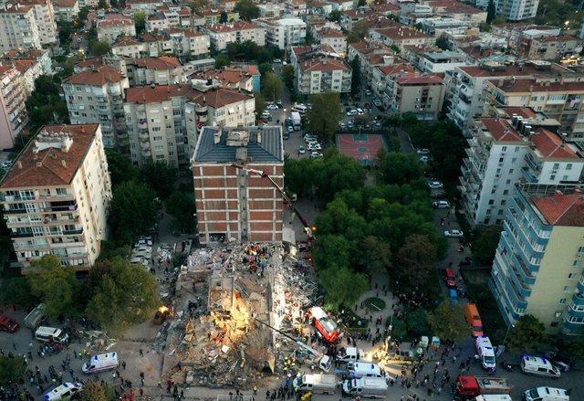 Tërmeti i fuqishëm në Turqi, publikohen pamjet nga lart të
