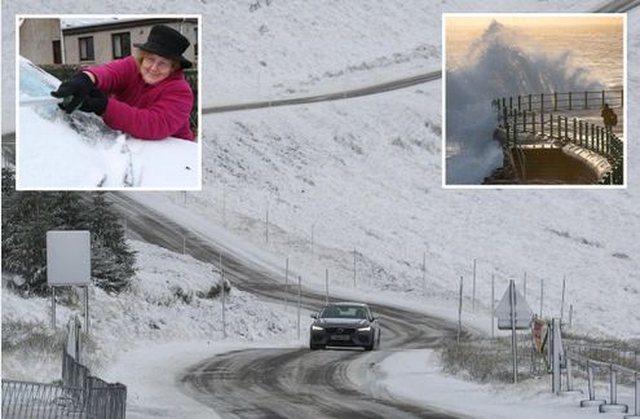 Dëbora e parakohshme godet shtetin e madh europian, temperaturat zbresin