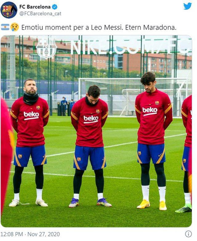 Barcelona nderon me një minutë heshtje Maradonën, qëndrimi i