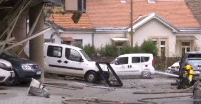 VIDEO/ Shpërthim i fuqishëm në qendër të Beogradit