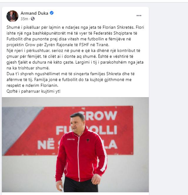 Sporti shqiptar në zi/ Baba i dy fëmijëve të mitur, ndahet