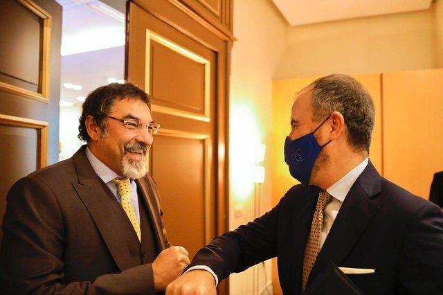 Luigi Soreca i shkon në zyrë ministrit Bledi Çuçi,