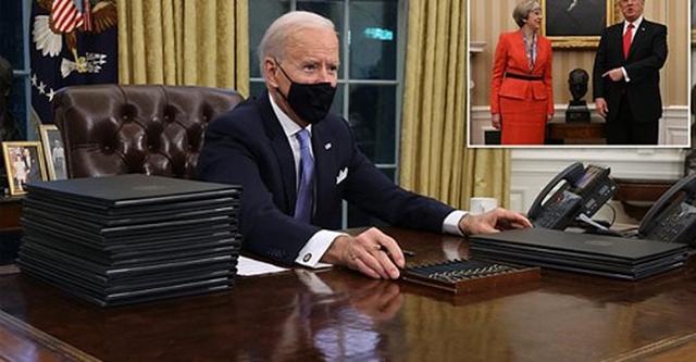 What happened? President Joe Biden's latest move infuriates the British