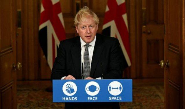 Varianti i ri i COVID në Mbretërinë e Bashkuar, Boris Johnson jep