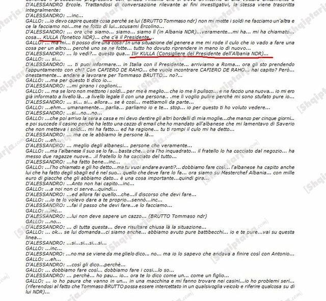 Publikohen përgjimet e antimafias italiane, krerët e