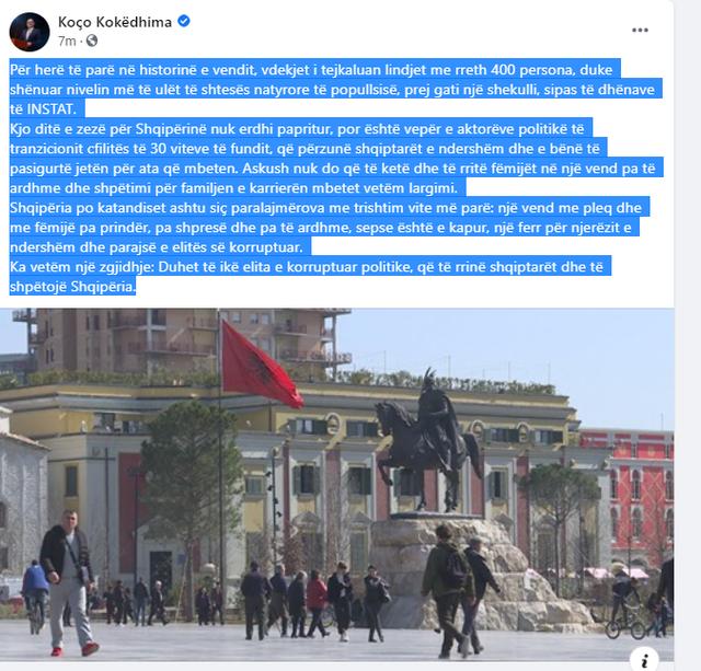 """""""Kjo ditë e zezë për Shqipërinë nuk erdhi"""