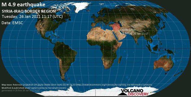 Toka nuk gjen qetësi/ Tërmeti me magnitudë 4.9 shkund