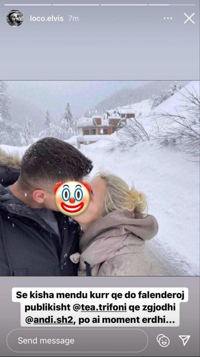 Pas fotove ku Tea puthej me Beartin, Elvisi bën reagimin që nuk