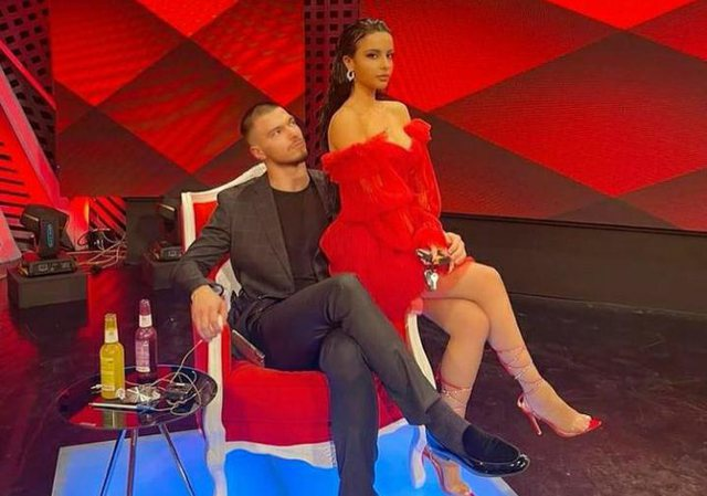 """He kissed Andin on the lips, the competitors """"cross"""" Jasmina in the studio: Take and ...! - Gossip"""