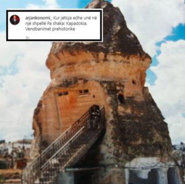 Arjan Konomi paska jetuar në shpellë si Juli? Del fotoja që i