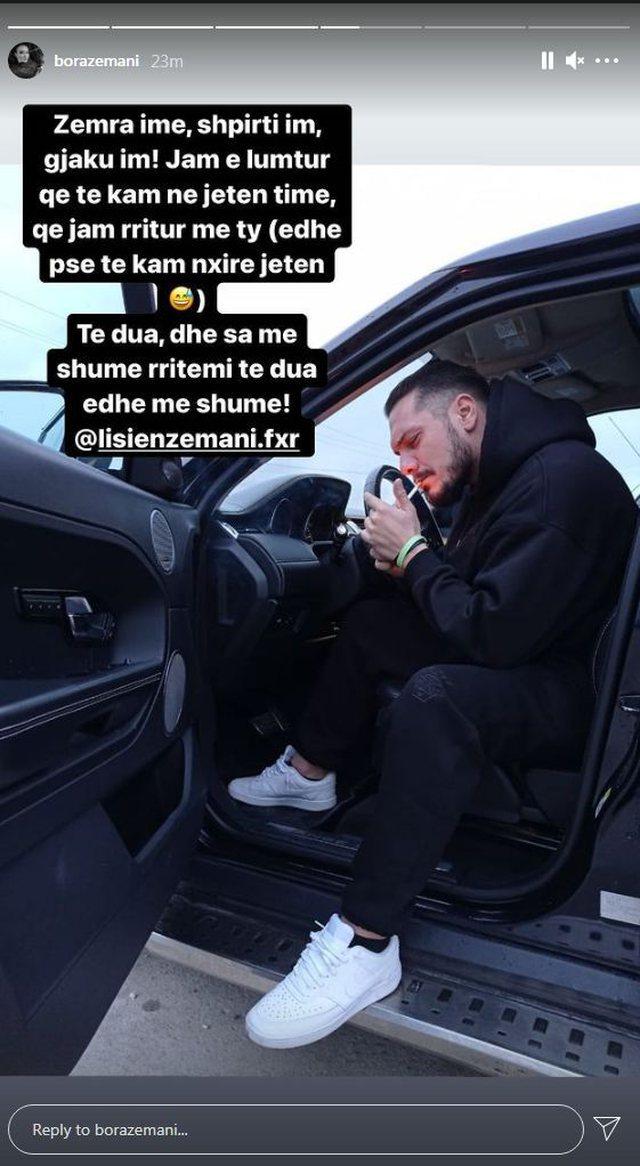 """""""Ta kam nxirë jetën"""", Bora Zemani i bën urimin"""