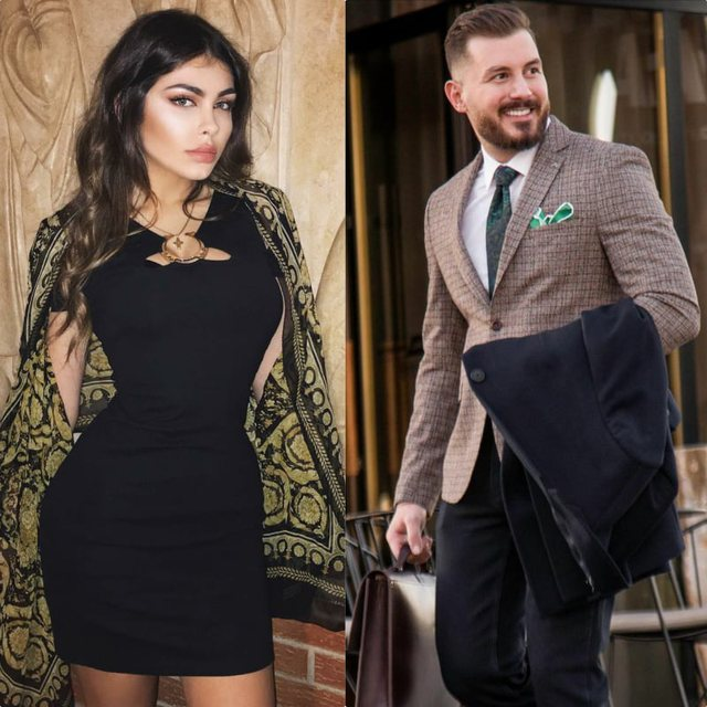 Actor Romeo Veshaj and the daughter of the well-known Albanian minister take the