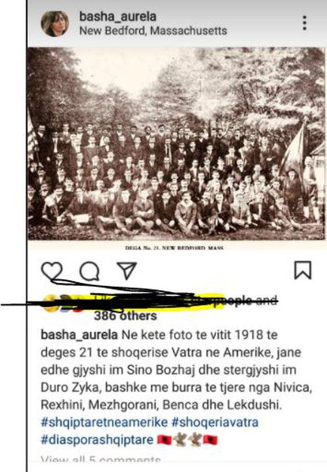 Aurela Basha publishes a rare photo, shows the interesting detail about her
