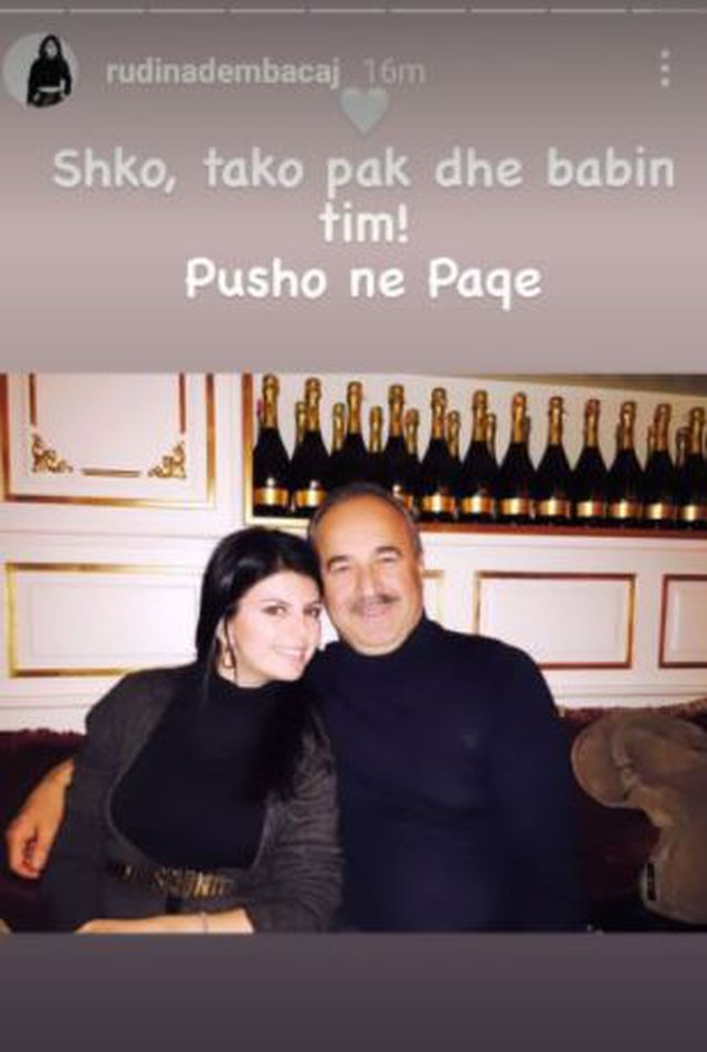 Rudina Dembacaj shares the sad news: Go and meet my father! (Photo)