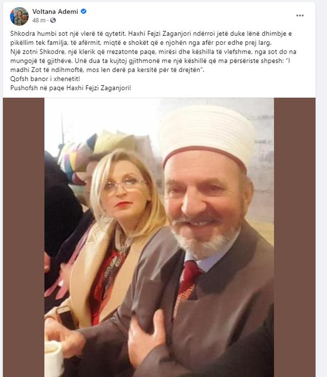 """""""Shkodra humbi sot një vlerë të qytetit""""/ Voltana"""