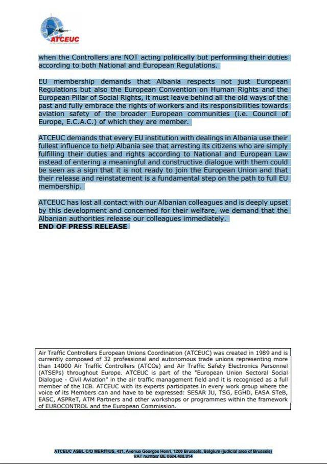 Kaosi në Rinas/ Unioni Europian i Kontrollorëve i drejton thirrjen