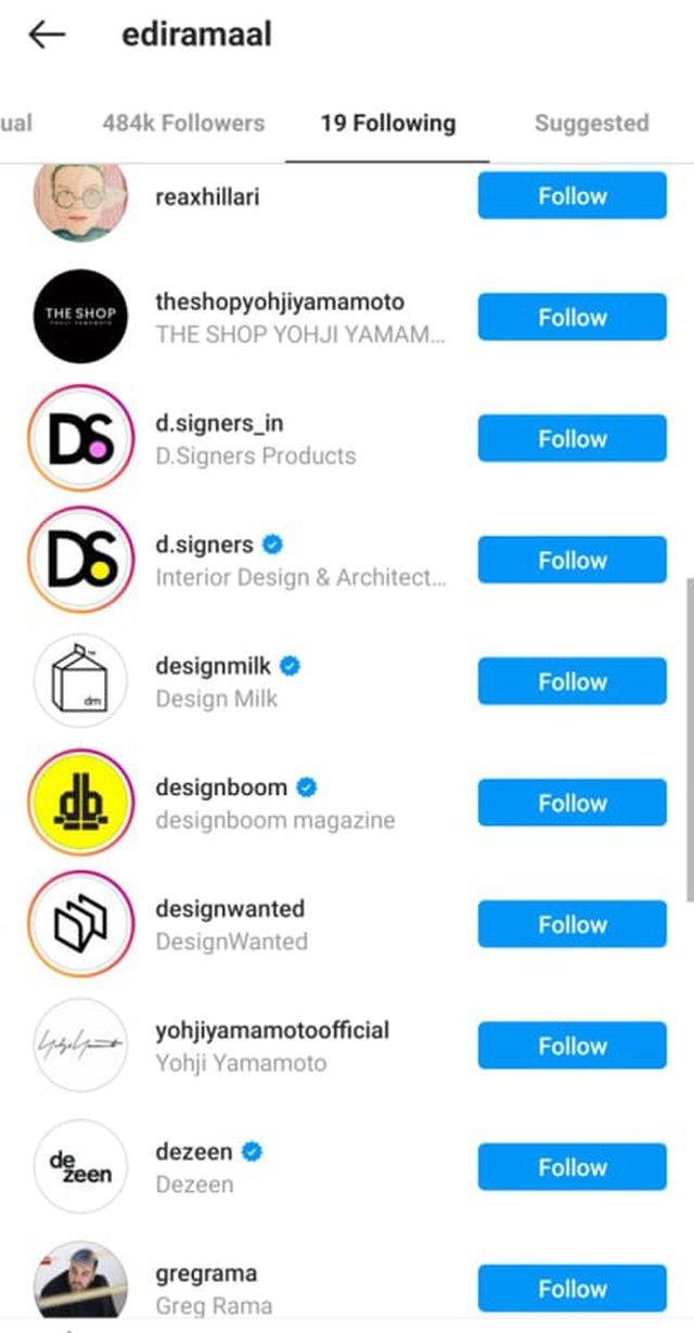 Edi Rama follows only 19 profiles on Instagram, among them two women (PHOTO)