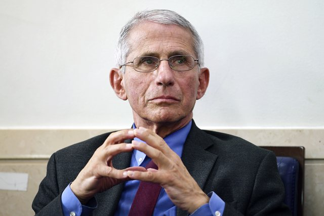 What happened? Anthony Fauci comes out with the unexpected statement: Americans