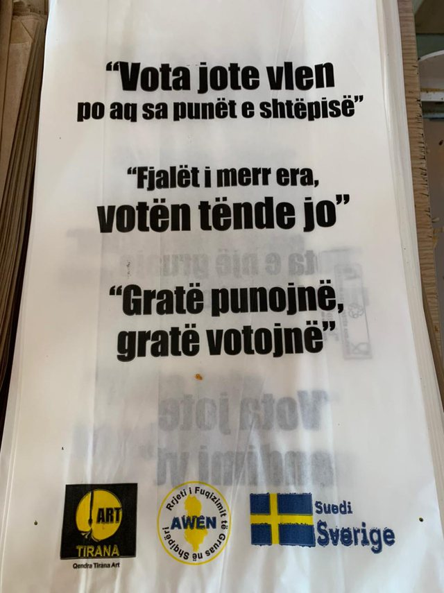 April 25 / Bread shops in Fier find genius 'solution' how to convince