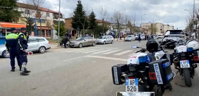 Clashes between police and 4 people in Mamurras, members of the