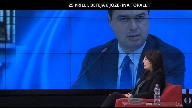 25 Prilli/ Jozefina Topalli e thotë hapur: PD-ja as bashkë me