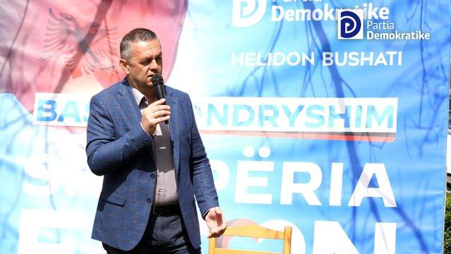Bushati takon të moshuarit në Shkodër: Votoni Partinë