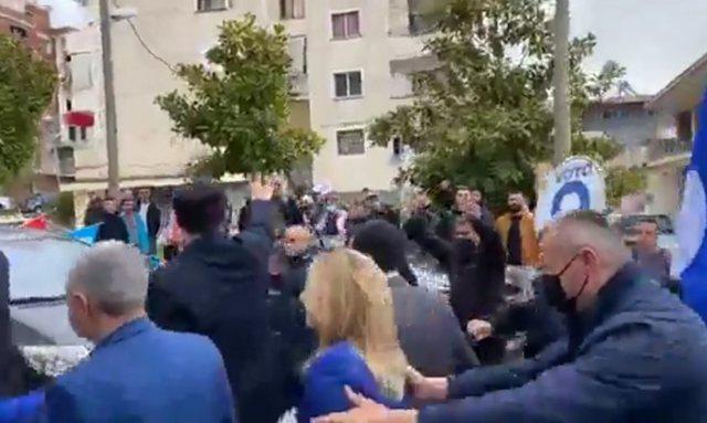 Ndodh incidenti i papritur në takimin elektoral të Lulzim Bashës,
