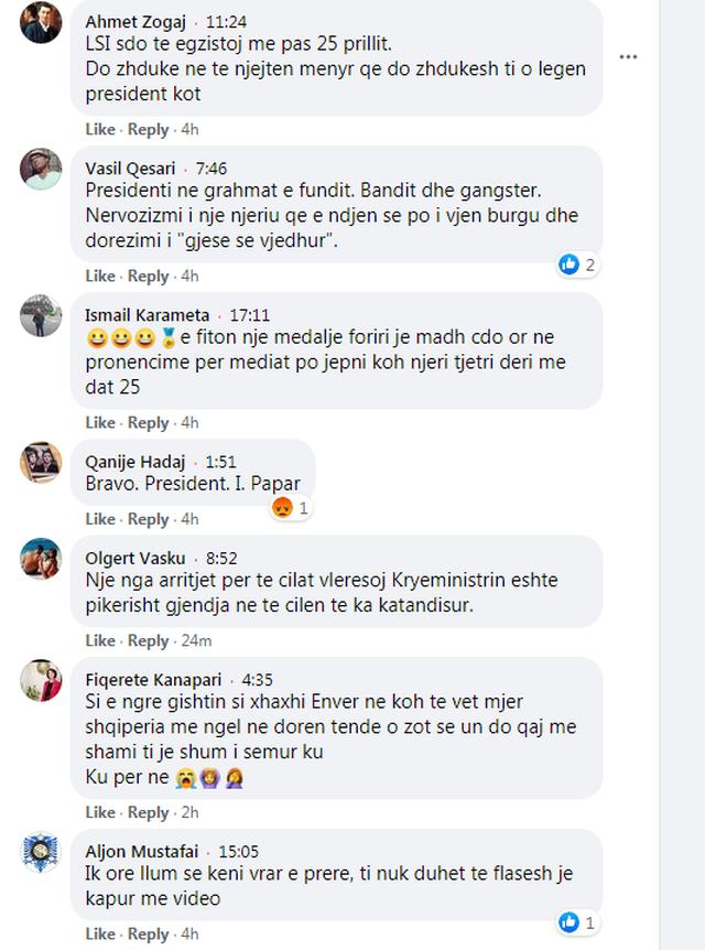 """Qytetarët """"masakrojnë"""" Ilir Metën: Dorëzo"""