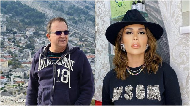 Criticized for the photo she posted in bed with Jonida Maliqi, Ardit Gjebrea