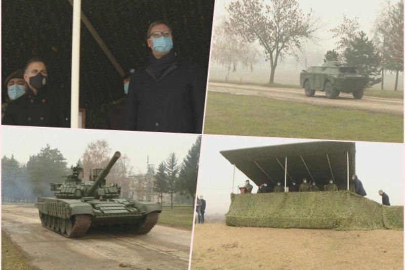 Vuçiç kërcënoi me luftë/ Tanket serbe