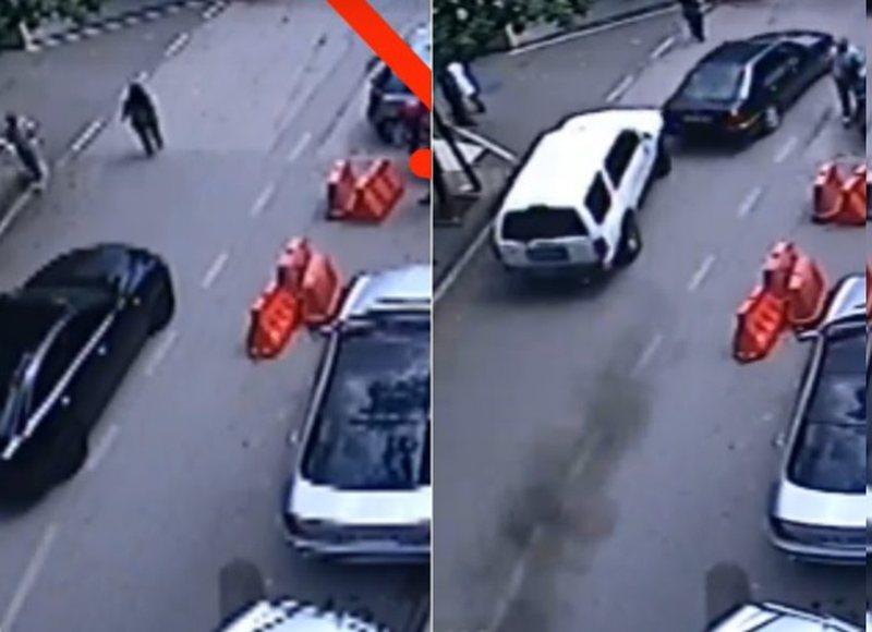 VIDEO/ Publikohen pamjet e rënda të momentit kur automjeti