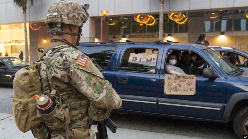 Biden kundër mobilizimit nga Presidenti Trump të ushtrisë ndaj