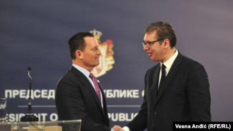 Grenell: Arrihet marrëveshje në parim Kosovë-Serbi për