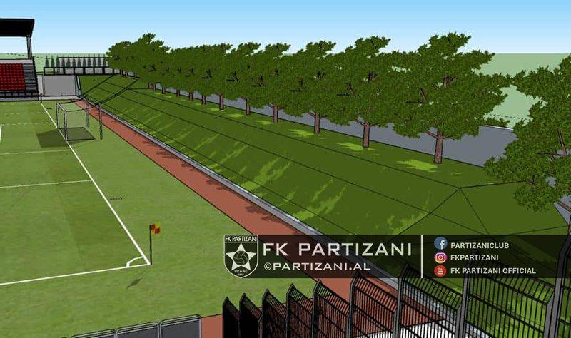 Kompleksi i Partizanit hyn në fazën finale të ndërtimit,