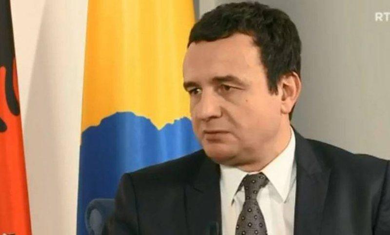 Kryeministri i Kosovës flet për vizitën në Shqipëri,