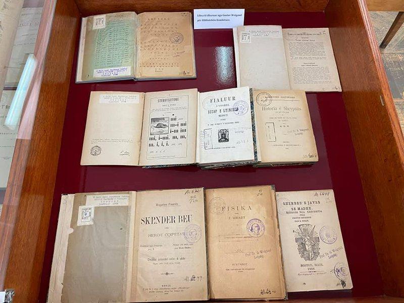 Veprat e albanologut Gustav Weigand, prezantohen në Bibliotekën