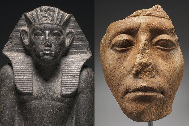 Statujat e lashta me hundë të thyer zgjojnë kureshtjen, vjen