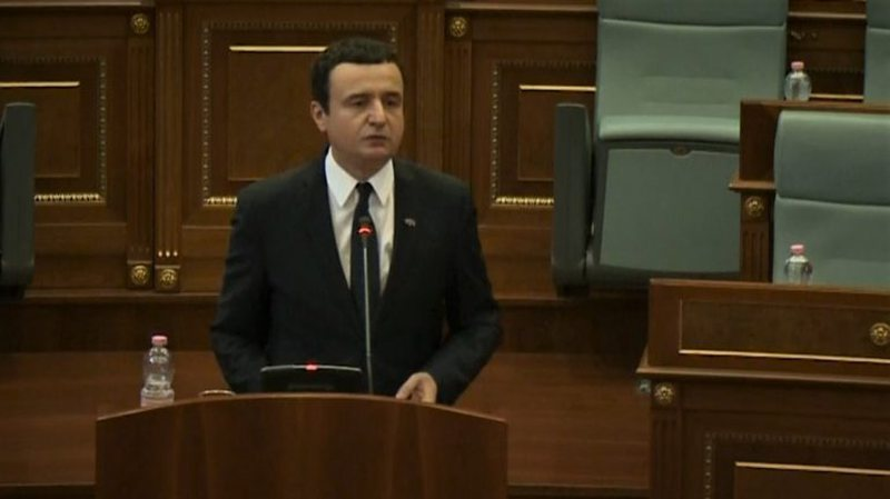 Qeveria drejt shkarkimit, Albin Kurti del me deklaratë të fortë: