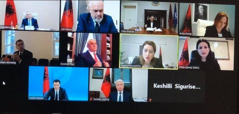 Përfundon mbledhja online e Këshillit të Sigurisë